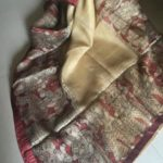 Kota Silk Saree with Kalamkari Story Border