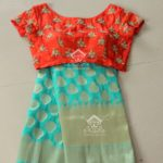 Banarasi Saree with Designer Blouses from Varuni Gopen