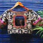Printed Cotton Designer Blouse from Mantra Design Studio