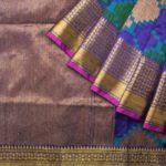 Handwoven Tussar Benarasi Silk Sarees from Parisera