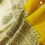 Tussar Silk Saree and Matka Silk Saree from Angadi Galleria Bangalore