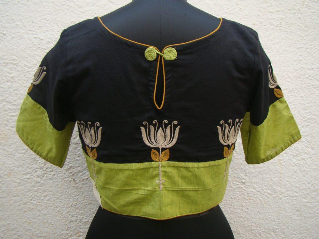 taamarai cotton blouse from house of taamara