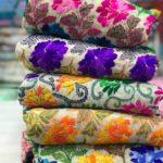 Phulkari Salwar Suits from Lucknow Chikan Store