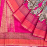 Kalamkari Tussar Silk Saree Collection from Kankatala