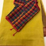 Readymade Blouse with Checks from ANAGHA Hyderabad