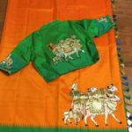 Painted iKat Silk Sarees from Trendy Traditionals