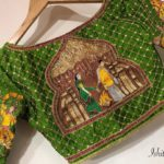 Embroidery Designer Blouse Collection from ishitaa Boutique