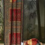 Handmade Ajrakh Dupion Silk Saree From Lakshmi