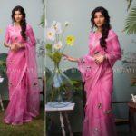 Spring Summer Organza Sarees Collection from Bhargavi Kunam