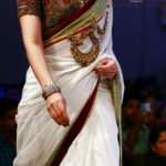 Designer Kalamkari Saree Braid De' by Paarvati and Saraswati