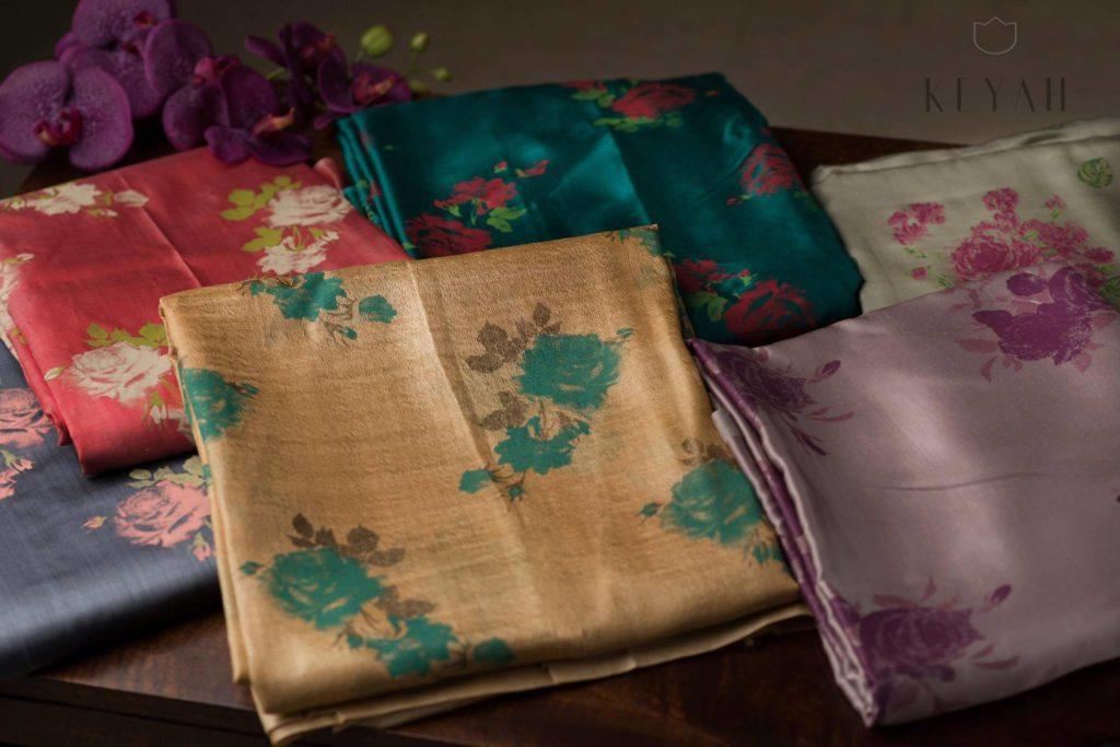 muga silk sarees collection from keyah label by peena roy