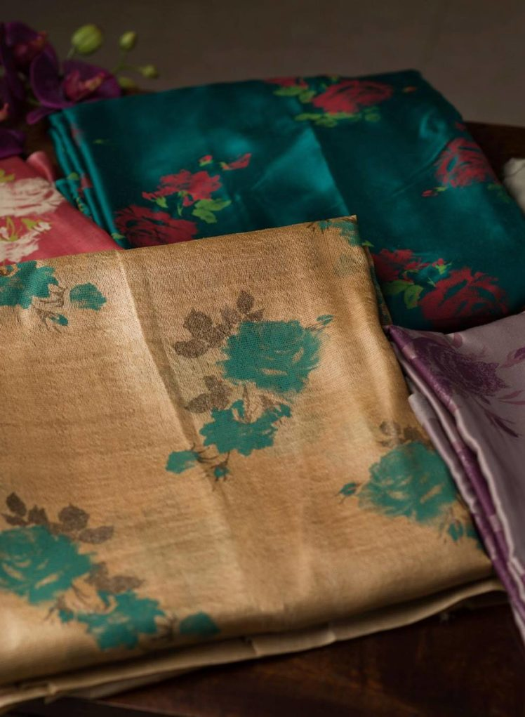 muga silk sarees collection from keyah label by peena roy