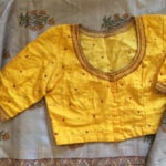 Raw Silk Embroidered Blouses from TheFarEastArtStudio