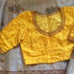 Raw Silk Embroidered Blouses from TheFarEastArtStudio