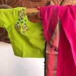 Embroidered Readymade Cotton Blouses from Pretty Weaves