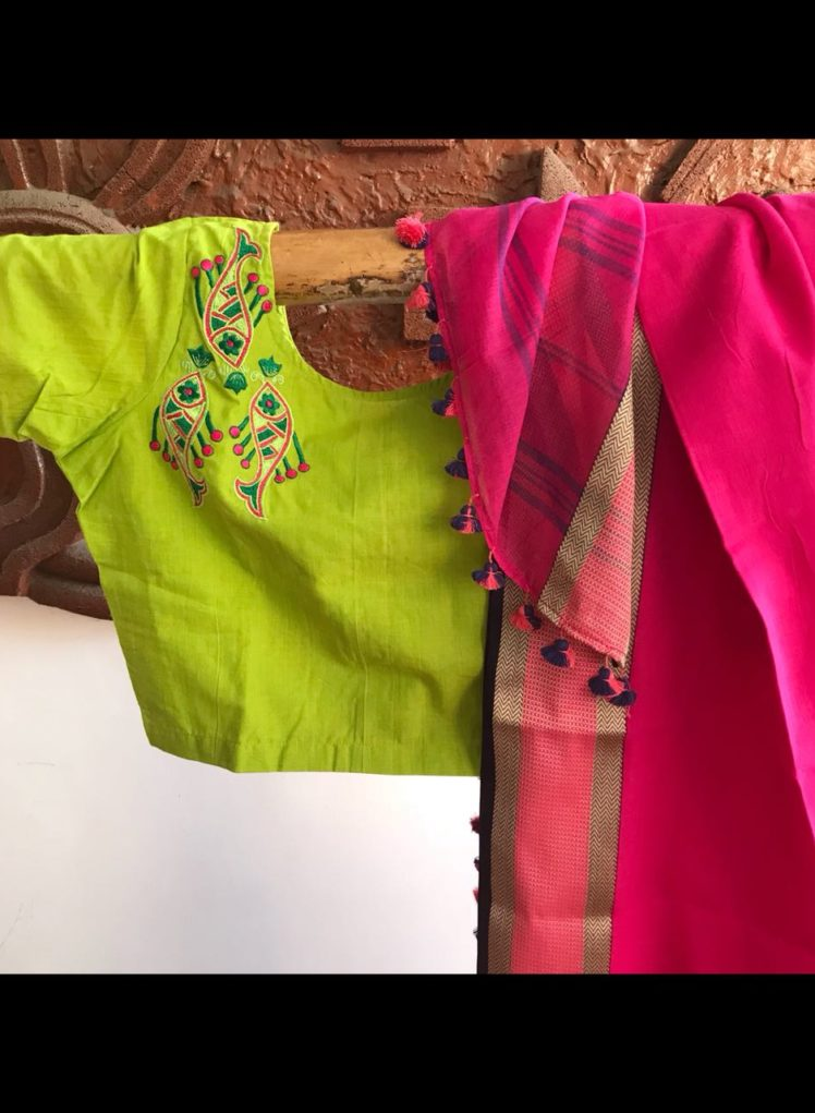 readymade cotton blouses from pretty weaves