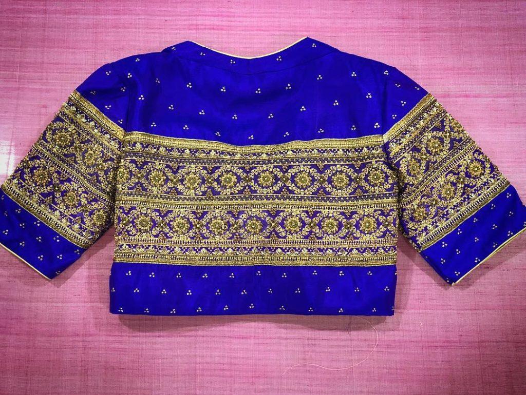 outstanding Designer Blouses collection from prathiksha design house