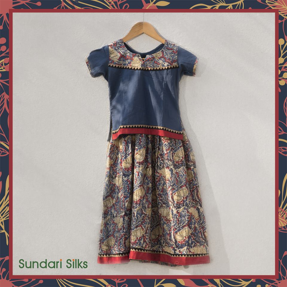 Kids Lehengas from Sundari Silks